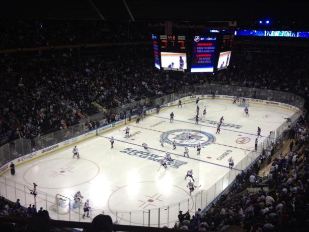 View From Seat 9: PLAYOFF Edition - 5/21/13 BOS @ NYR from Madison Square Garden